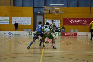 SC DHfK vs. Floor Fighters Chemnitz 1